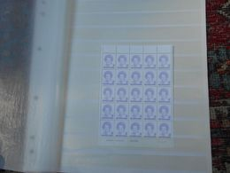 RARE COMPLETE SHEET OF 25!! NVPH # 1491 (Coll50c) - Unused Stamps