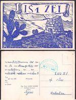 QSL IS1ZET Cerdeña, Italia To LU2ZI Antartida Argentina - 14/03/1967 - Cygnus - Radio