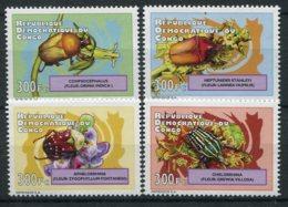 Congo (rep Démocratique)  Insectes  1962/1965 ** - Insects