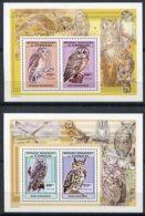Congo (rep Démocratique)  Oiseaux  1819/1822  ** - Owls