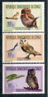 Congo (rep Démocratique)      Oiseaux    1930/1932 ** - Owls
