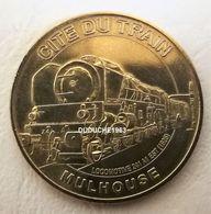 Monnaie De Paris 68.Mulhouse Cité Du Train 2 Locomotive 241. 2012 - Monnaie De Paris