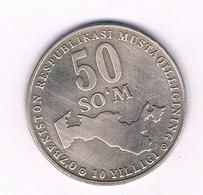 50  SOM 2001 OEZBEKISTAN /4563/ - Usbekistan