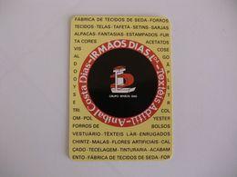Irmãos Dias Trofa Portugal Portuguese Pocket Calendar 1990 - Calendriers