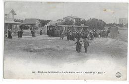 CPA 17200 ROYAN  :  La Grande Côte - Arrivée Du Tram - Terminus  1905 - Royan