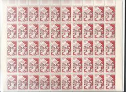 Feuilles Complètes De 50 Timbres De La Série  N°970/974 .Productions De Luxe, Métiers D'art. - Volledige Vellen