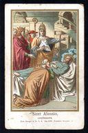 Santino: S. ALESSIO Confessore - E - BR - PR - Ed. Benznger & Co. - Einsiedeln - Religione & Esoterismo