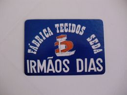 Irmãos Dias Trofa Portugal Portuguese Pocket Calendar 1989 - Calendriers