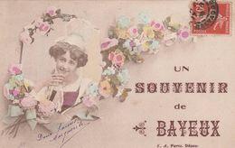 Un Souvenir De Bayeux  - Scan Recto-verso - Bayeux