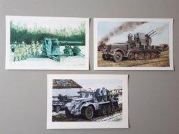 Cartes : Artillerie Allemande De La Deuxième Guerre Mondiale 1939 - 1945  & - 1939-45
