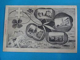 """88 ) Arches """" Porte Veine D'arches  """" Multivus """"  - Année  : EDIT : Bouteiller - Arches"""