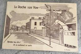 85 La Roche Sur Yon  1959 Cent Cinquantenaire Les Haras - La Roche Sur Yon