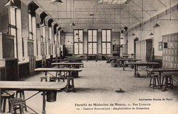 CP 54 Meurthe Et Moselle Nancy Faculté Médecine 31 Rue Lionnois Institut Anatomique Amphithéâtre Dissection - Nancy