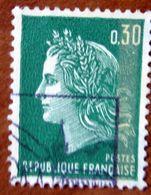 FRANCIA Marianne Of Cheffer - 0,30f Usato - 1967-70 Maríanne De Cheffer
