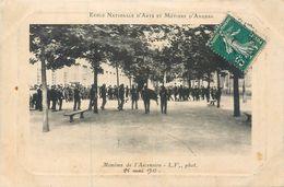 CPA 49 Maine Et Loire Angers Ecole Nationale D'Arts Et Métiers Monôme De L'Ascension 25 Mai 1911 - Angers
