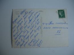 Sainte Adresse Griffe Marque Lineaire Obliteration De Fortune Sur Lettre - 1961-....