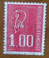 1976 FRANCIA Marianne De Béquet -1- Usato - 1971-76 Maríanne De Béquet