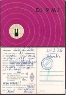 QSL DJ9MJ Munich, Alemania To LU2ZG Antartida Argentina - 12/12/1966 - Cygnus - Radio