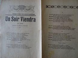 Partition Ancienne Un Soir Viendra Mme Baudinet Raymond Dupuis - Partitions Musicales Anciennes