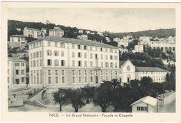Alpes Maritimes : NICE : Le Grand Séminaire - Façade Et Chapelle - Monuments