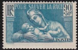 France  .    Yvert   .    419      .     *        .    Neuf Avec Charnière   .   /  .   Mint-hinged - France