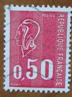 1971 FRANCIA Marianne De Béquet - 0,50 - Usato - 1971-76 Maríanne De Béquet