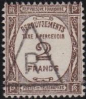 France  .    Yvert   .    Taxe  62     .   O      .    Oblitéré     .   /  .   Cancelled - 1859-1955 Used