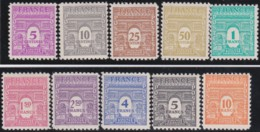 France  .    Yvert   .    620/629      .     *        .    Neuf Avec Charnière   .   /  .   Mint-hinged - France