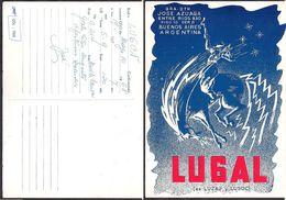 QSL LU6AL Buenos Aires, Argentina To LU6CN Argentina - 10/05/1968- Cygnus - Radio