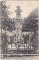 Gard : ALES - ALAIS : Statue De L'abbé De Sauvages - Alès