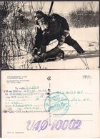QSL UAØ-10002 Khabarovsk Rusia To LU1ZG Antartida Argentina - 25/09/1966 - Cygnus - Radio