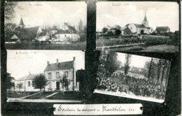 CPA - MANTHELAN - SOUVENIR DES ENVIRONS (CARTE MULTIVUES) - France