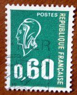 1974 FRANCIA Marianne De Béquet - 0,60 - Usato - 1971-76 Maríanne De Béquet