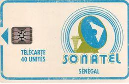 SENEGAL - Telecarte 40 Unités SONATEL - Sénégal