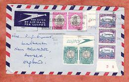 Luftpost, Szenen In Einheiten, Johannesburg Nach Arundel Sussex 1950 (94903) - Storia Postale