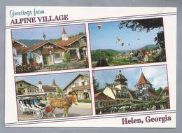 US.- GEORGIA, GREETINGS FROM ALPINE VILLAGE HELEN. - Etats-Unis