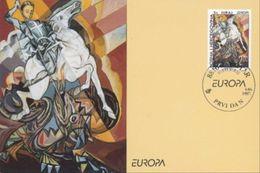 1997 MC 19/97, EUROPE, Myths And Legends, Saint George Kills The Dragon, Croat Post Mostar, Bosnia And Herzegovina, MNH - Bosnie-Herzegovine