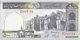 IRAN - 500 Rials 2007 - UNC - Iran