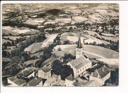 Carte ( Format 15 X 10,5 Cm ) De SAINT RACHO Bourg Et Route De Sordêt ( Vue Aérienne )( Recto Verso ) Mauvais état - France