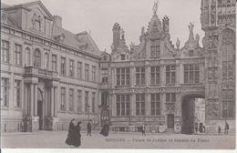 Bruges - Palais De Justice Et Maison Du Franc - Brugge