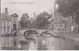 Bruges - Le Pont Du Béguinage - Brugge
