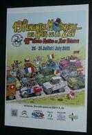 Rare Affiche Publicitaire Pour La 19e Rencontre Mondiale Des Amis De La 2cv 2CV Citroên, 2011 Salbris 41, Illust. Dubois - Reclame