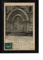 36 - SAINT BENOIT Du SAULT - Porte De L'église - 898 - France