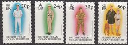 British Indian Ocean Territory (BIOT) 1996, Uniforms, MNH Stamps Set - Britisches Territorium Im Indischen Ozean