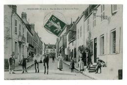 28 - B5633CPA - SENONCHES - Rue De Dreux Et Bureau De Poste - Bon état - EURE-ET-LOIR - France