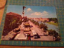 152807  Cartolina Con Bus Autobus Usata Per Concorso Parma - Voitures De Tourisme