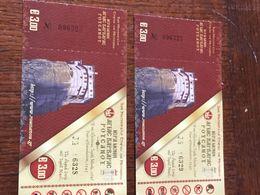 GRECE. Ticket D'entrée Aux Monastères Des Météores - Eintrittskarten