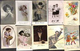 Fantaisie - Femme - Humour Animée ---> A Regarder 18 Cartes à Petit Prix (Lot 10) - Fancy Cards