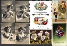 Fantaisie - Femme - Humour Animée ---> A Regarder 18 Cartes à Petit Prix (Lot 12) - Fancy Cards