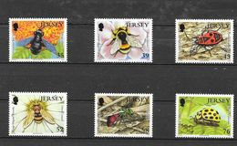 Jersey 2008 Mi.No. 1371 - 1376 Insects II Bees Bugs Beetles 6v MNH** 8,50 € - Jersey